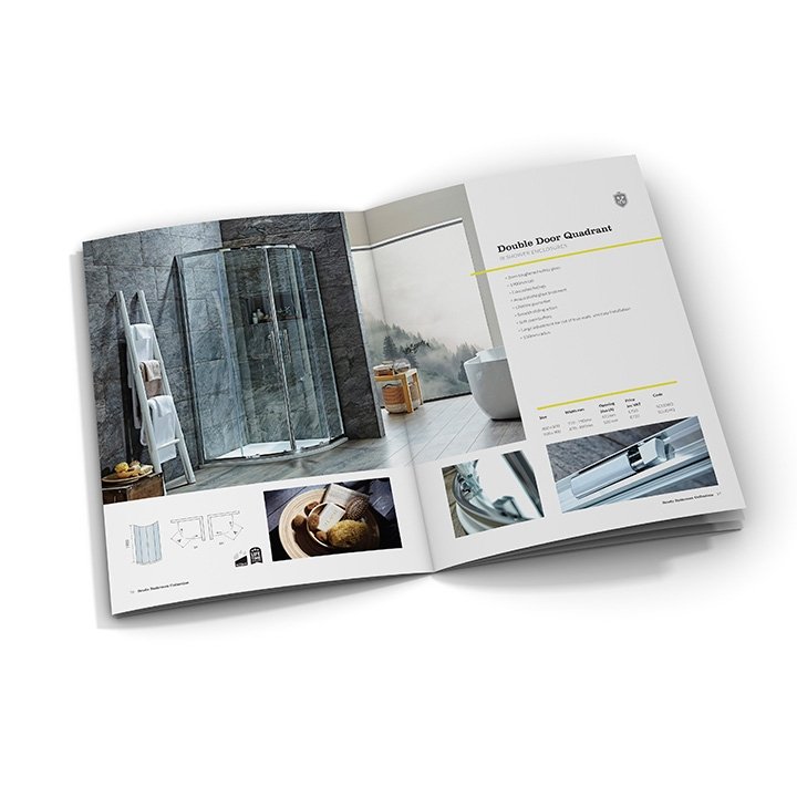 Room set Photography and Brochure design. Pure Agency - Leeds