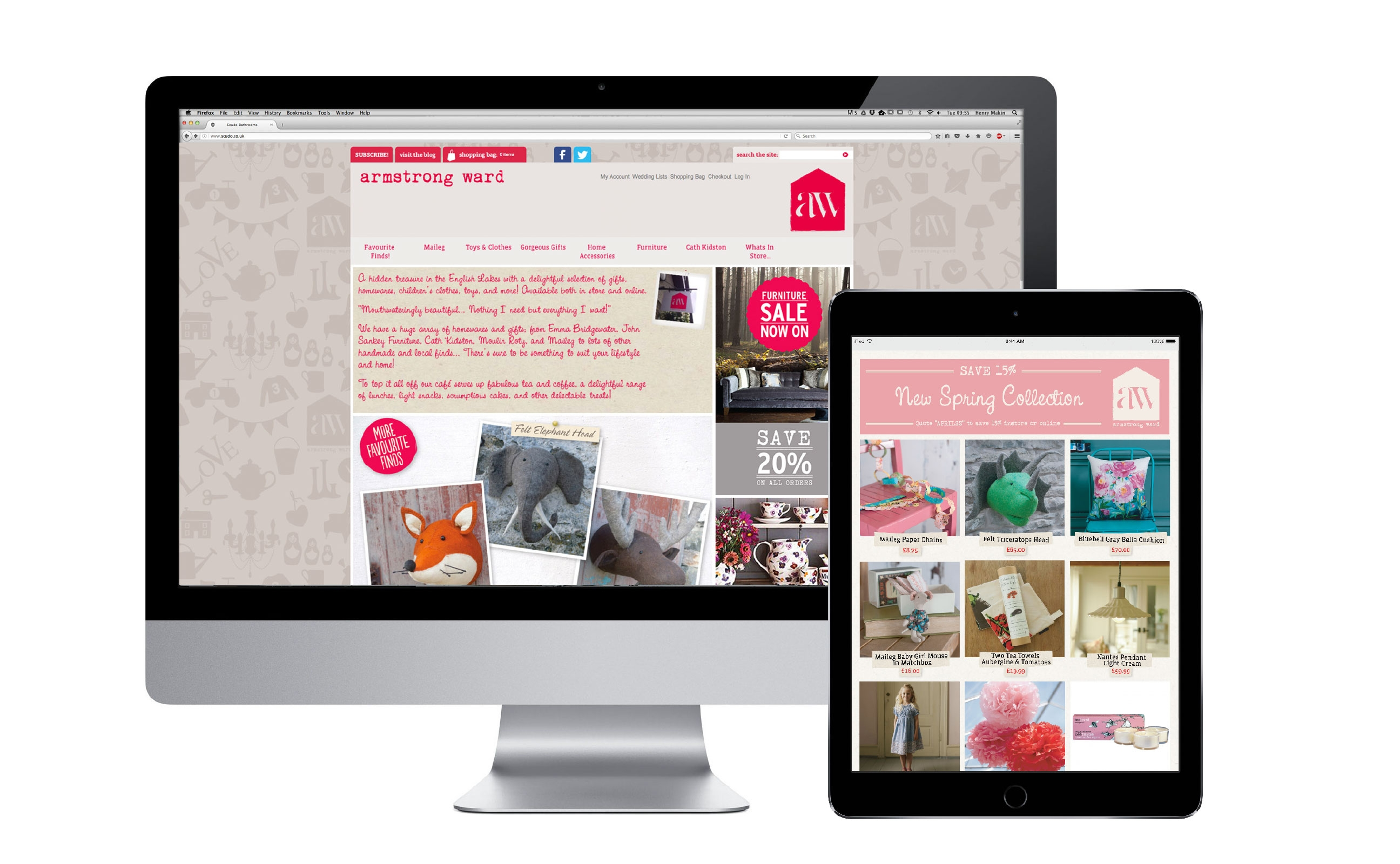 Magento Ecommerce website development - Pure Leeds