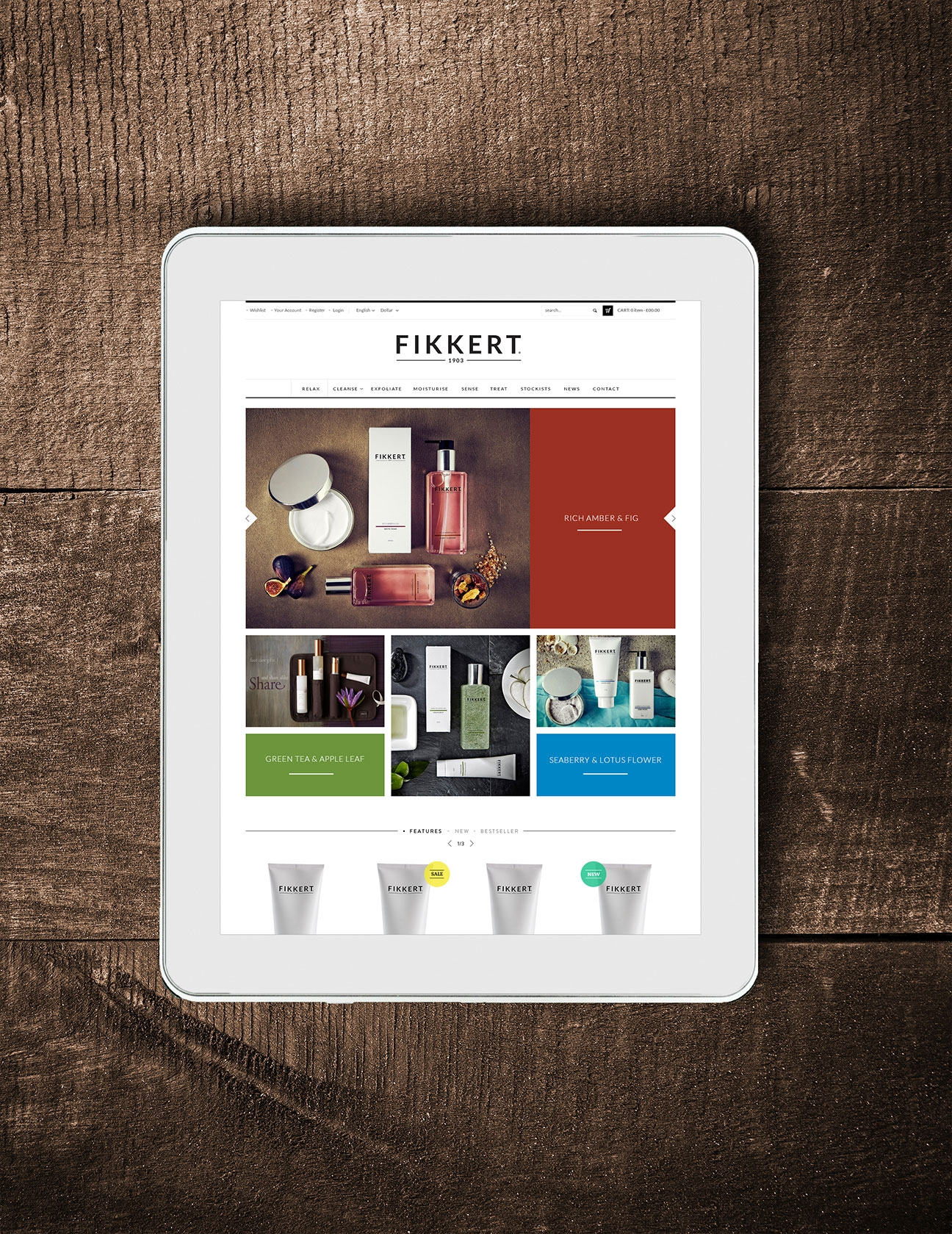Fikkerts 1903 Website