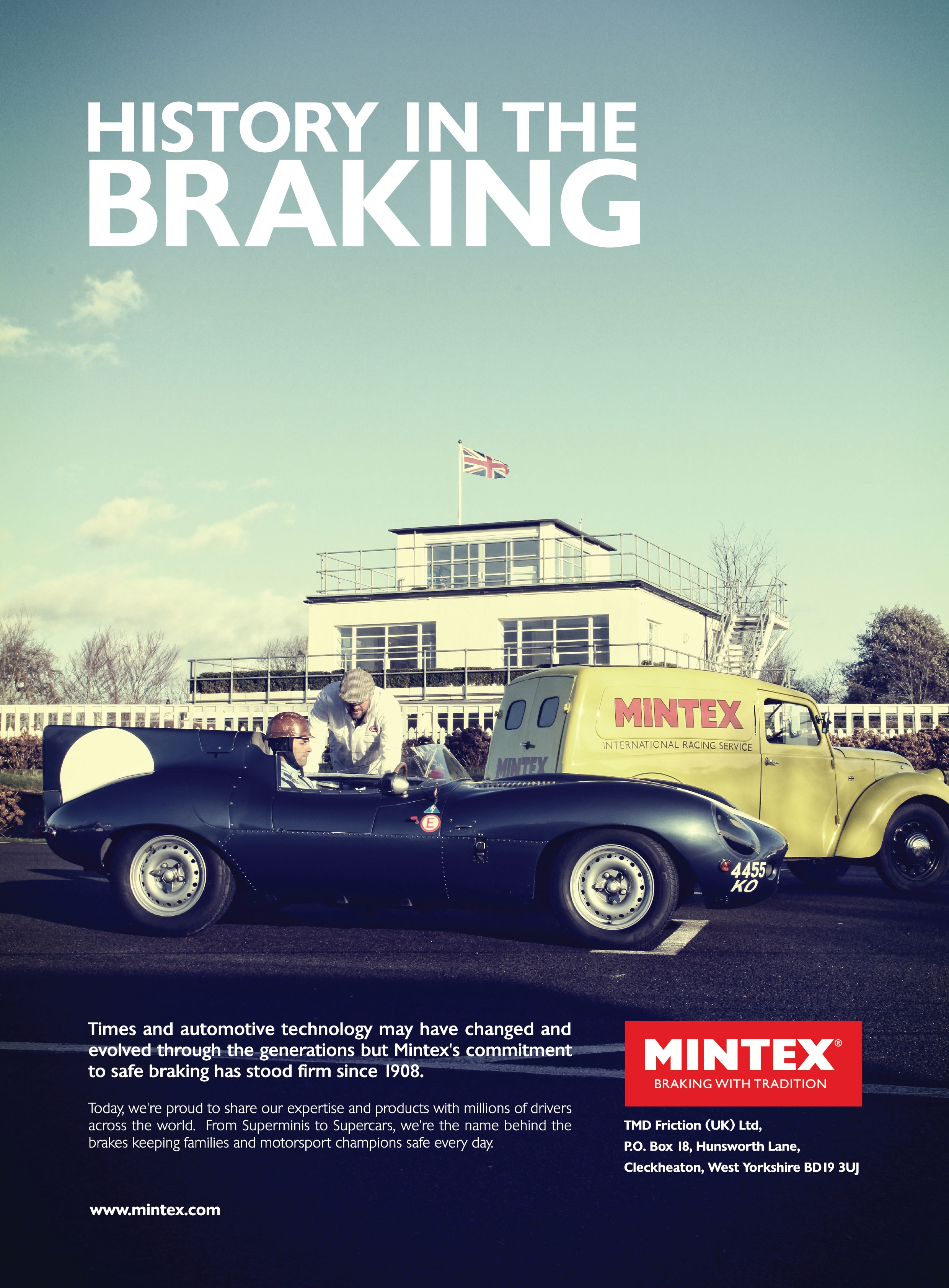 Mintex Brakes Advertising Campaign - Pure Marketing Agency