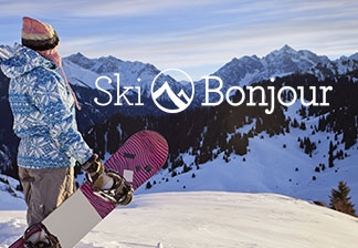 Ski Bonjour Travel Website Design