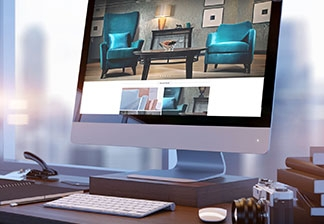 Website design for Knightsbridge Furniture