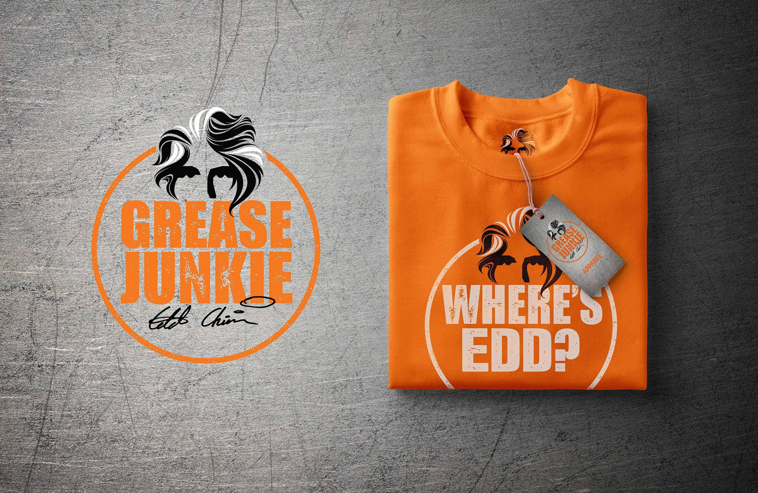 Edd China sweatshirt mockup