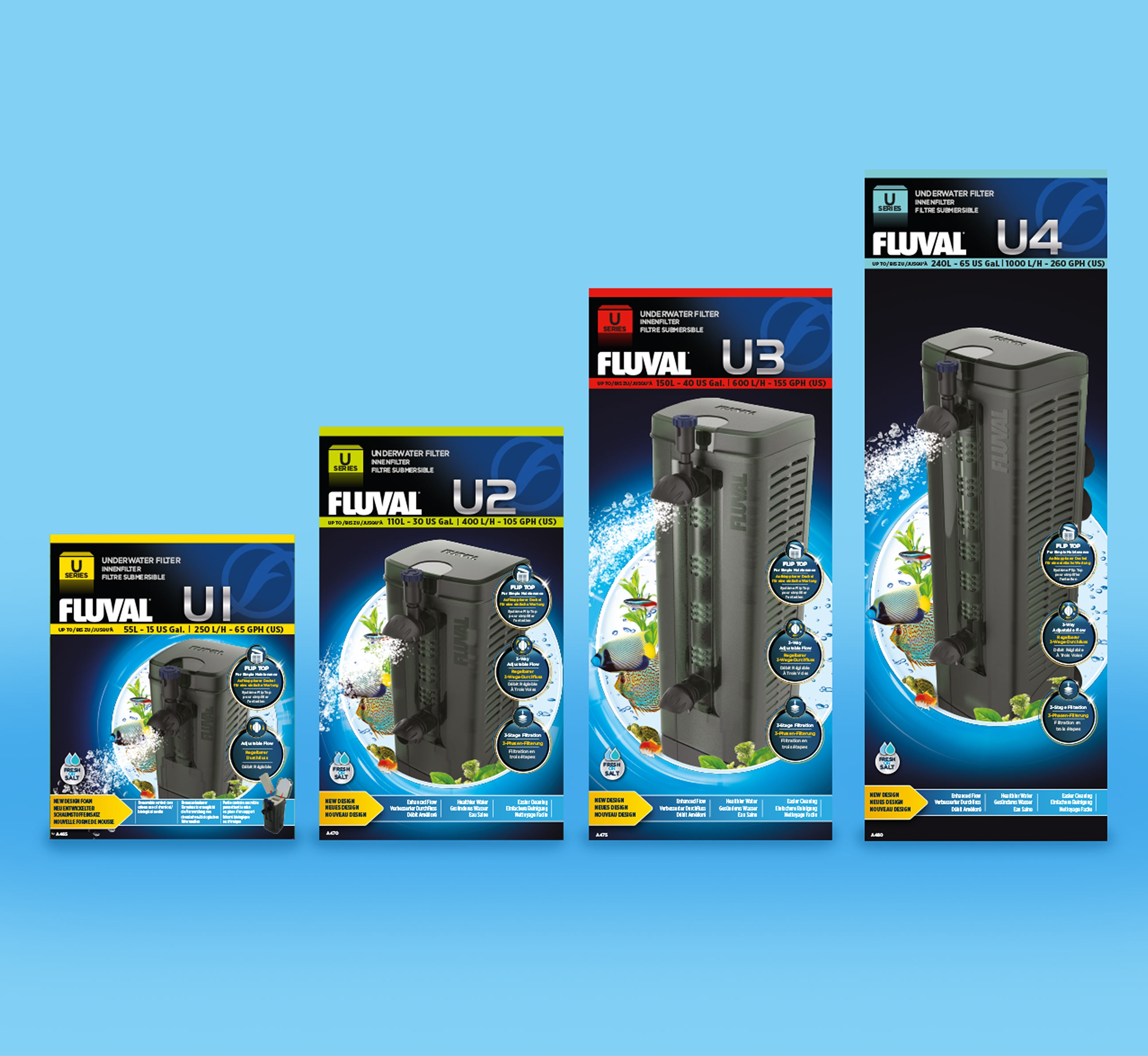 Fluval Packaging Design