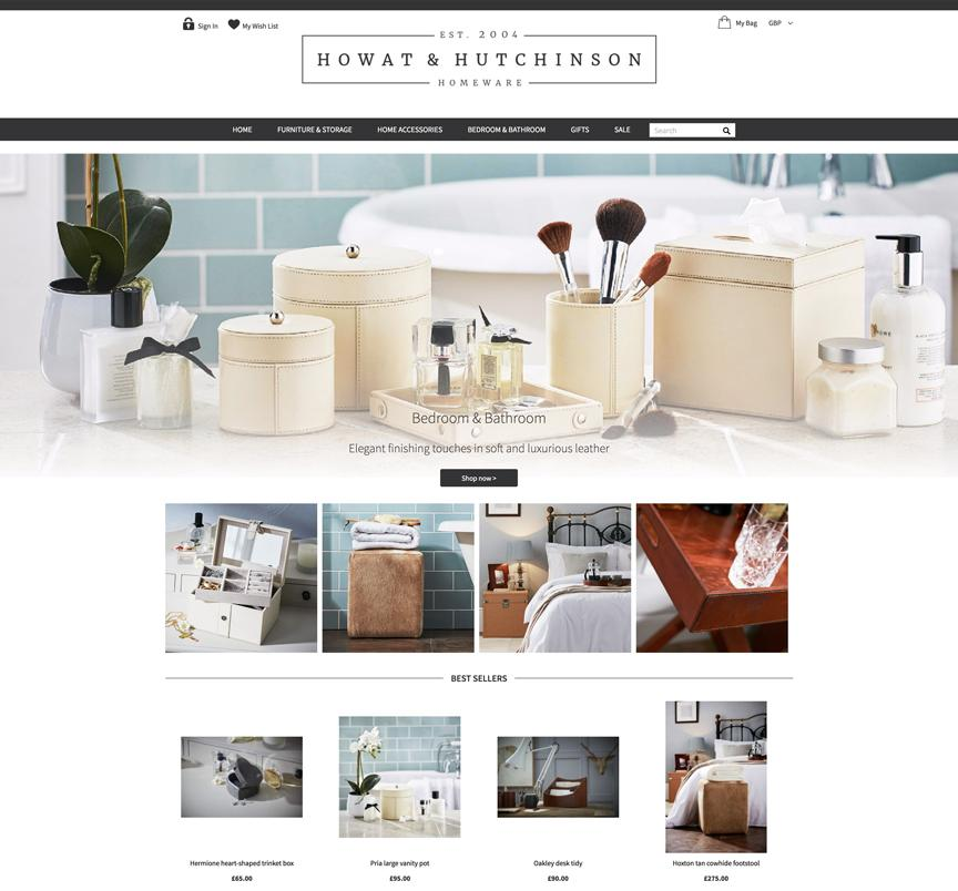 Howat & Hutchinson Website