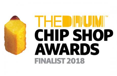Chip Chip hurray! We've been shortlisted in The Chip Shop Awards