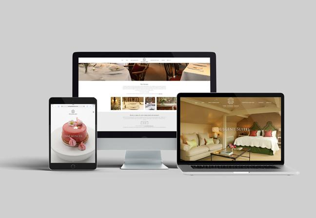New Website for Michelin Starred The Yorke Arms
