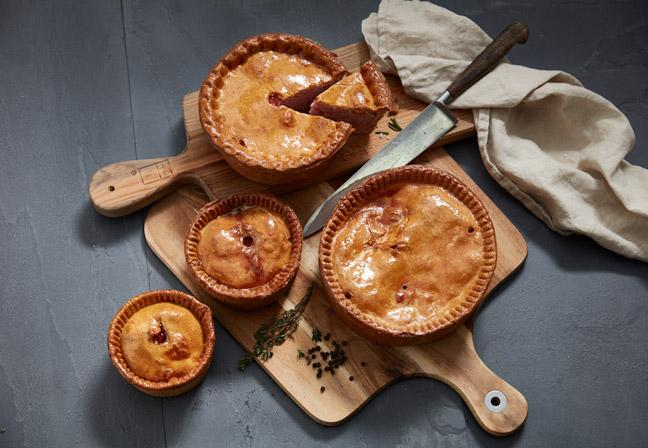 Photography for Eric's Pies
